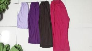 sisa potongan baju ukhti dijadikan legging dalaman dengan harga mulai RP.5000 per pc