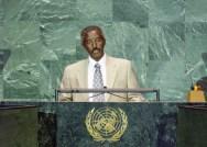 Berhane Abrehe at UN