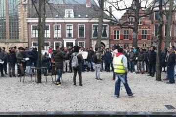 Eritreans in Brussels demonstrate against Israeli deporations