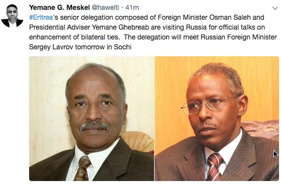 Eritrea Russia