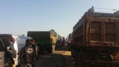 Zalambessa traffic jam 3