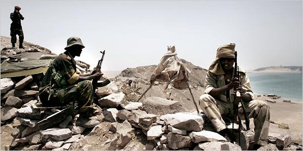 Djibouti Eritrea border