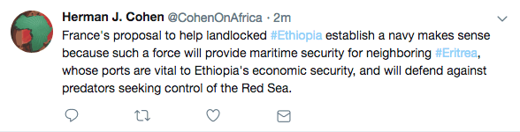 Herman Cohen Ethiopia navy