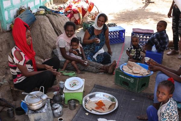 Hitsats Refugee Camp Ethiopia