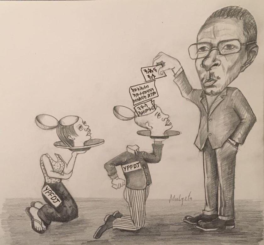 Anti YPFDJ cartoon
