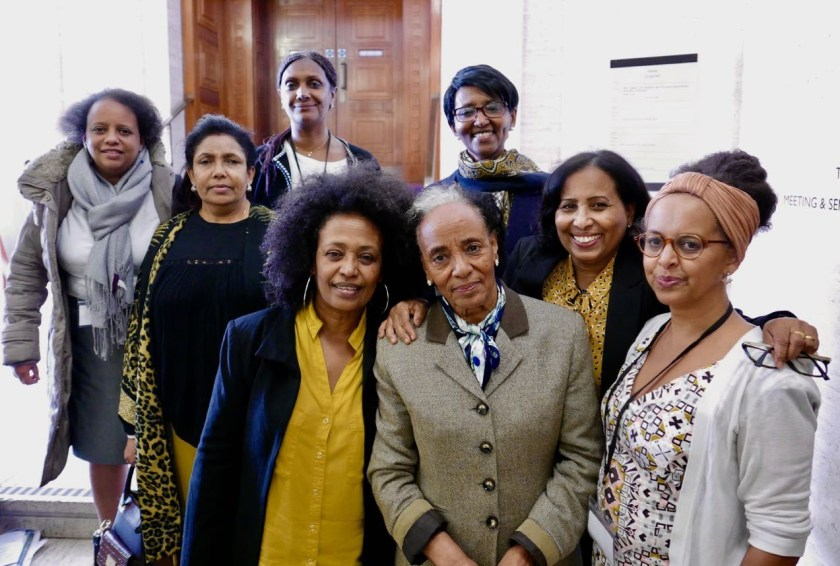 Eritrean women at the Conference