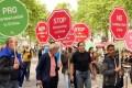 Stop the Slavery in Eritrea - Demo in Bonn