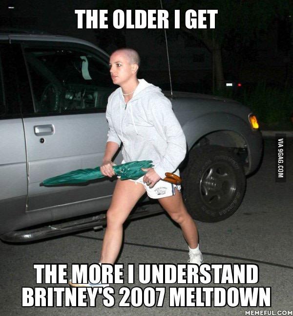 Mientras más crezco más entiendo a la Britney del 2007
