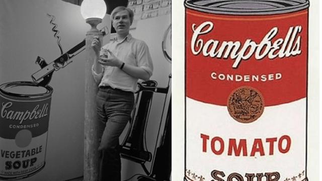 Esta lata es más famosa que tú gracias a Warhol