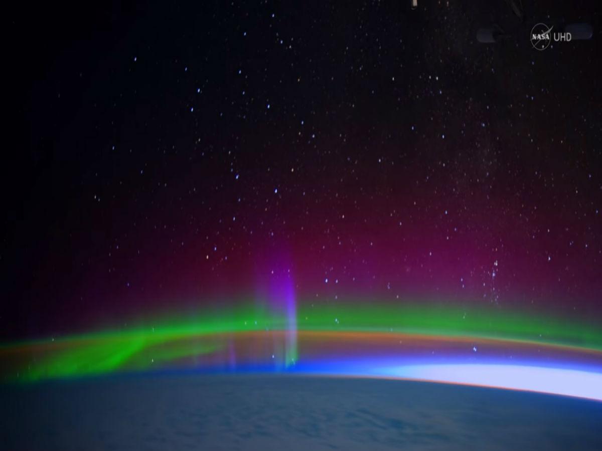 Auroras Boreales, Espacio, Tierra