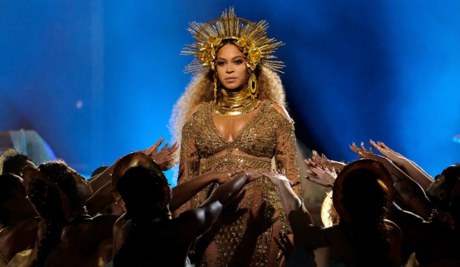 Presentación de Beyoncé durante los Grammys 2017