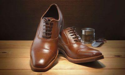 zapatos oxford de chocolate