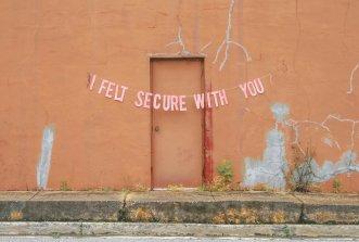 Me sentía seguro contigo