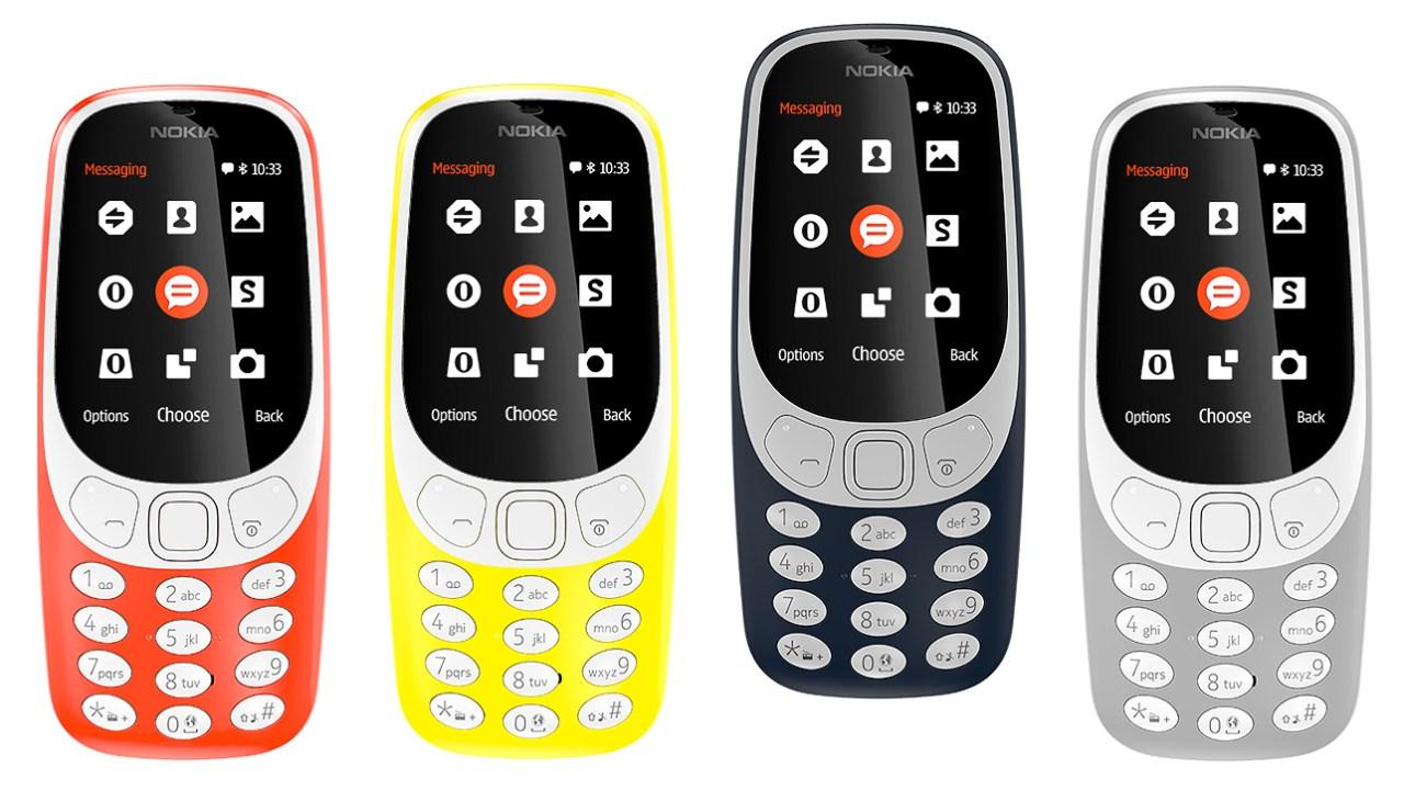 Se remodeló el Nokia 3310