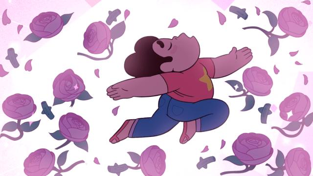 Steven Universe poder para curar rosas