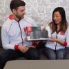 Unboxing de la Switch por Kit Ellis y Krysta Yang en Nintendo Minute