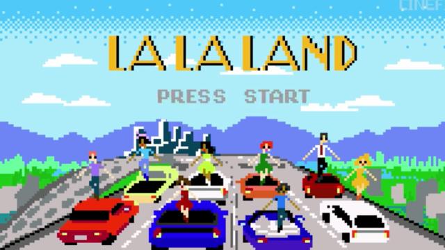 La la land tiene versión en 8-bit