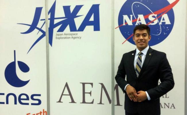 Yair Israel Piña, estudiante mexicano investigador de la NASA