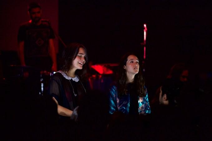 Dos dulces voces compartiendo escenario