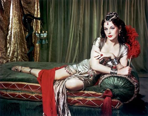 Hedy Lamarr en su papel de Dalila