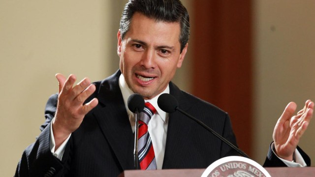 Peña Nieto dice que la crisis de México solo esta en tu mente