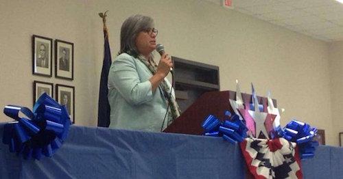 La congesista demócrata de Texas Jessica Farrar