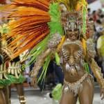 Bailarina del Carnaval Río