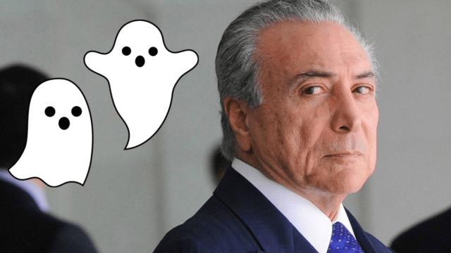 Fantasmas obligan al presidente de Brasil a mudarse de su residencia oficial