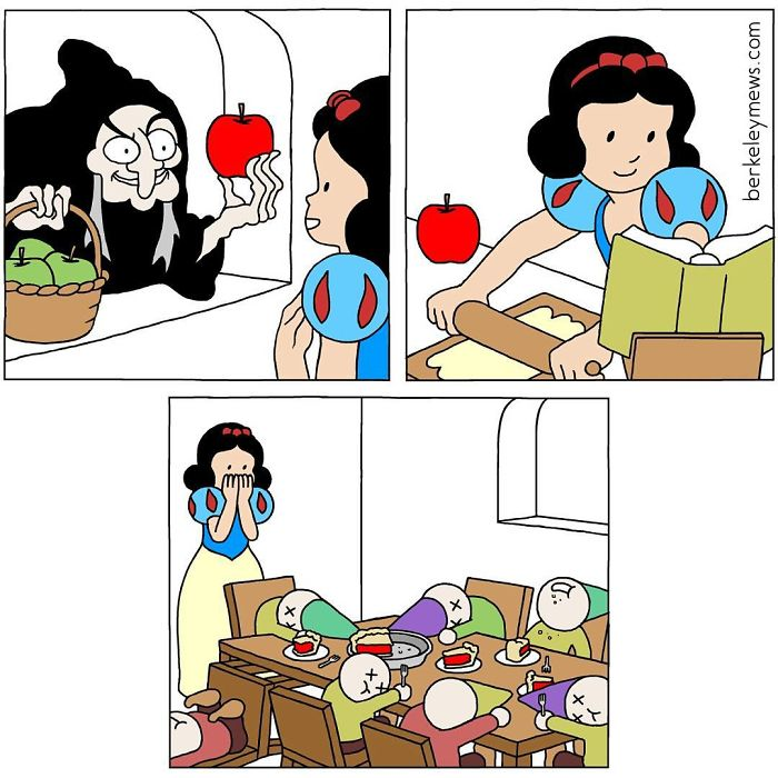 Comics Princesas Disney Blanca Nieves