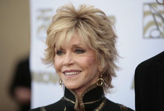 Jane Fonda en alfombra roja