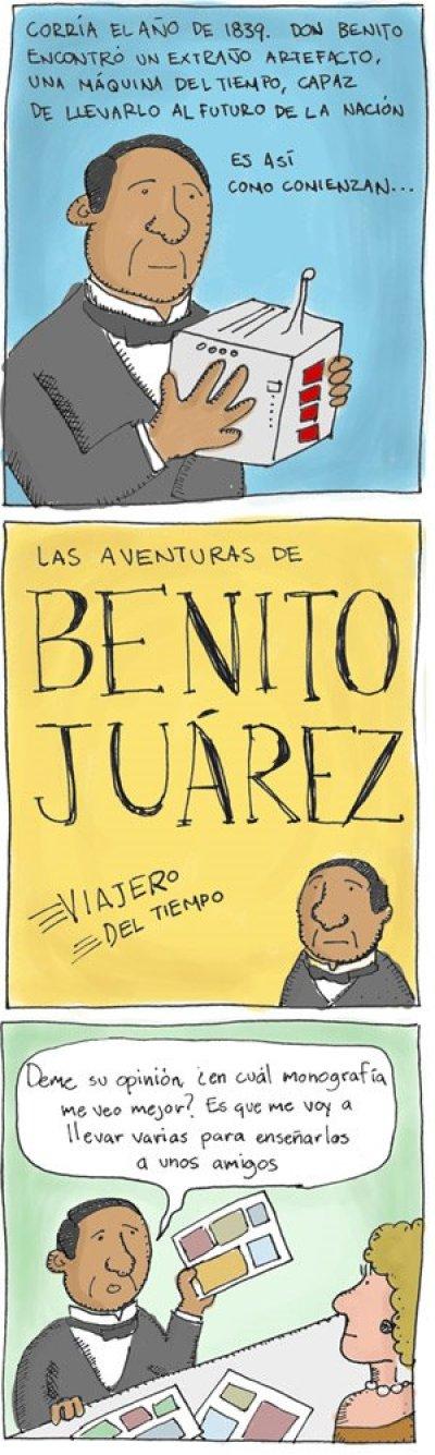Benito Juarez, siempre presente