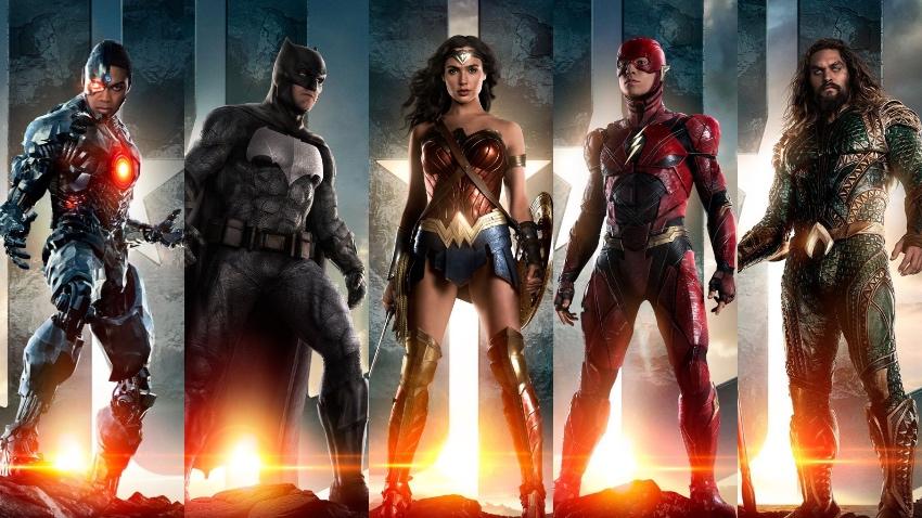Justice League Mujer Maravilla Batman Cyborg Aquaman Flash