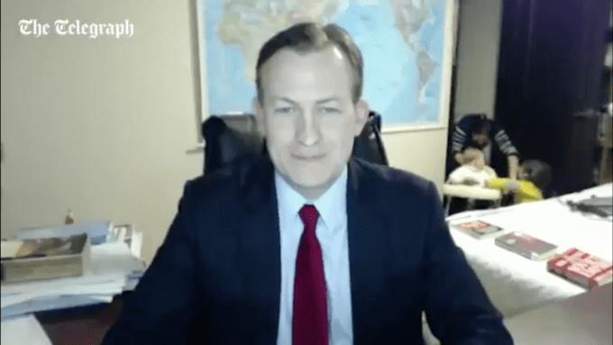 Esta será la entrevista más divertida del mes para la BBC
