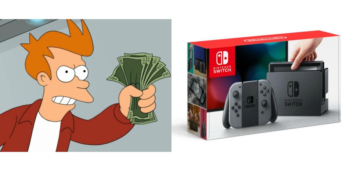 Nintendo Switch Fry Money