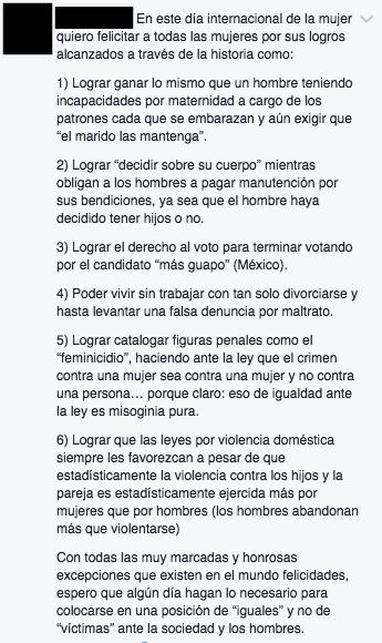 Estos son los peores comentarios en Redes sociales en el Día de la Mujer
