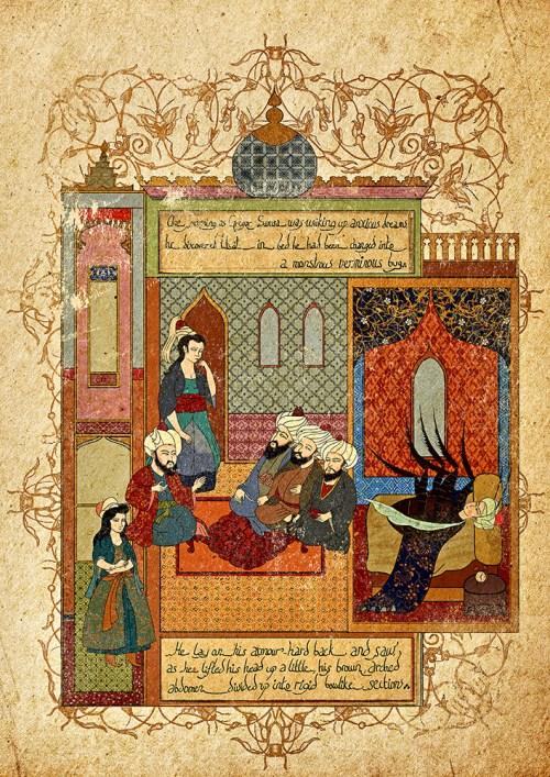 Metamorfosis en versión miniatura turca