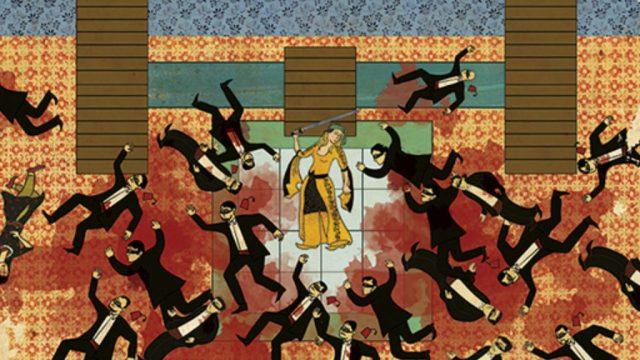 Kill Bill en versión miniatura otomana