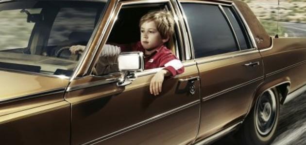 Este niño robó el coche de sus papás para escapar con su hermanita a un McDonald's