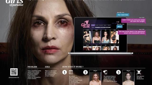 "Francia lanza ""Girls of Paradise"", una impresionante campaña antiprostitución"