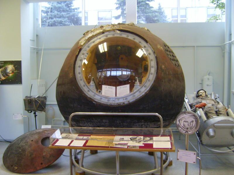 La cabina del Vostok 1