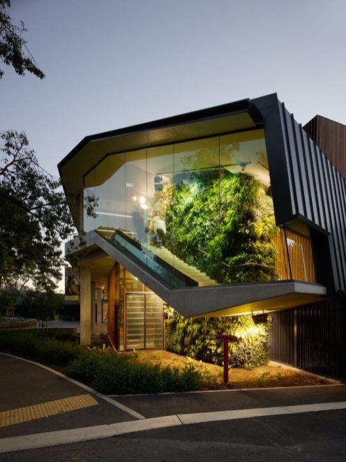 La entrada del Zoológico Adelaide tiene esta maravilla diseñada por Hassell