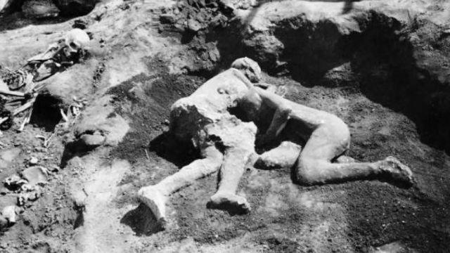 Los amantes de Pompeya resultaron ser dos hombres