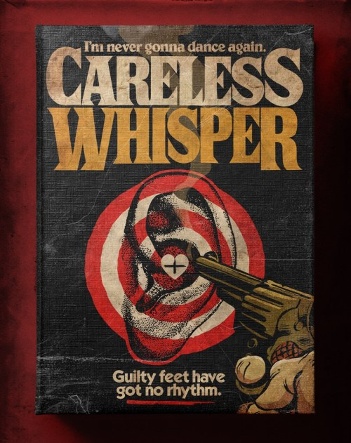 Butcher Billy ilustró Careless Whisper de George Michael