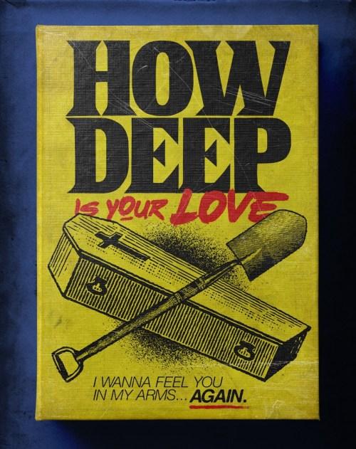 """Butcher Billy ilustró """"How Deep Is Your Love"""" de The Bee Gees"""