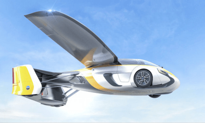 Si tienes 1.5 millones de euros y quieres un carro volador ya puedes reservar el Aeromobil 4.0
