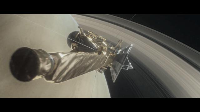 La nave espacial Cassini empezará su última misión, su Gran Final