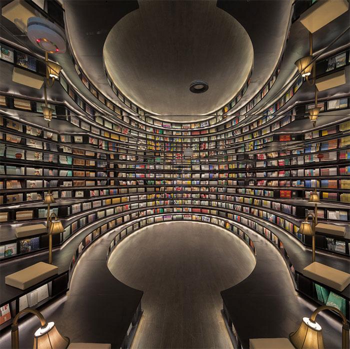 Librería Hangzhou Zhongshuge ganadora del A' Design Award & Competition
