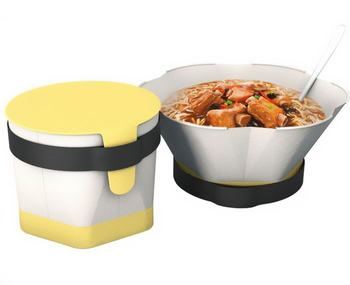 Instant noodle packing box del A' Design Award & Competition