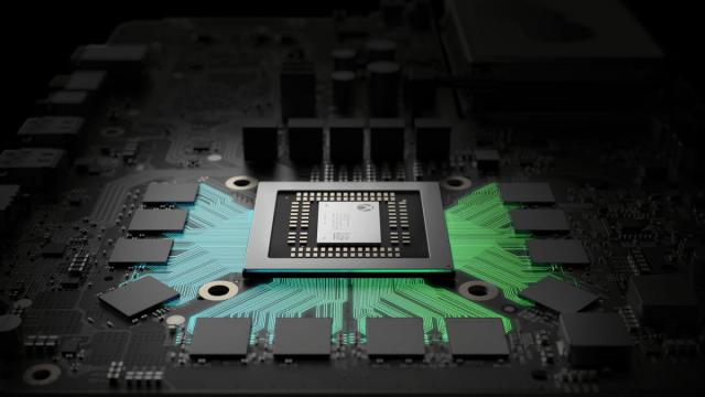 El chip FinFET del Xbox Proyect Scorpio