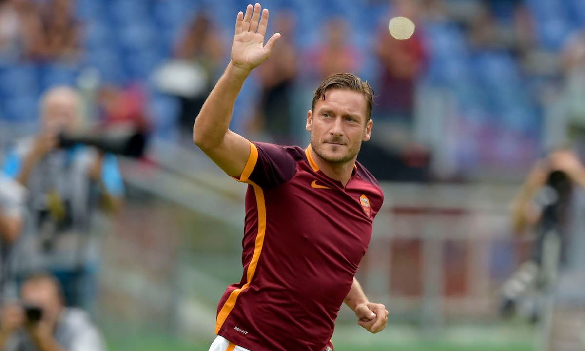 ¡Tristeza! Francesco Totti se retira del futbol profesional
